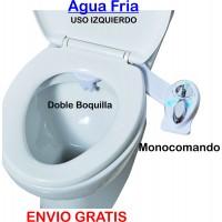 Bidet plus agua fria uso Izquierdo